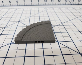 Forest of Oakenspire - Small Tree Roof Tiles - OpenLock - DND - Pathfinder - Dungeons & Dragons - RPG - Tabletop - EC3D - 28 mm - 1""