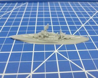 Battleship - Colorado - 1945 Variant - US Navy - Wargaming - Axis and Allies - Naval Miniature - Victory at Sea - Tabletop Games - Warships