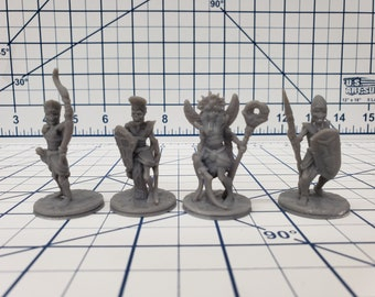 Empire of Scorching Sands - Undead Minis - Hero's Hoard - DND - Pathfinder - Dungeons & Dragons - RPG - Tabletop - EC3D - Miniature - 28 mm