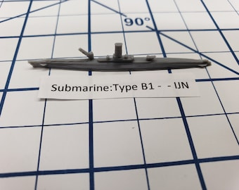 Submarine - Type B1 - IJN - Wargaming - Axis and Allies - Naval Miniature - Victory at Sea - Tabletop Games - Warships