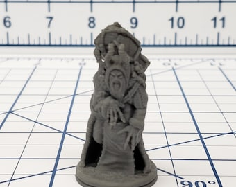 Wilds of Wintertide - Krampus Mini - Hero's Hoard - DND - Pathfinder - Dungeons & Dragons - RPG - Tabletop - EC3D - Miniature - 28 mm