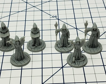 Kraken Cultists Mini - Savage Atoll - Hero's Hoard - DND - Pathfinder - Dungeons & Dragons - RPG - Tabletop - EC3D - Miniature