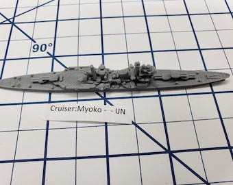 Cruiser - Myoko - IJN - Wargaming - Axis and Allies - Naval Miniature - Victory at Sea - Tabletop Games - Warships