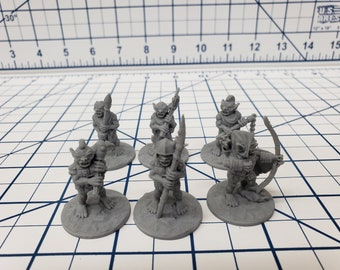 "Goblin Minis Sets  - DND - Pathfinder - RPG - Dungeon & Dragons - Miniature - Mini - 28 mm / 1"" - Fat Dragon Games"