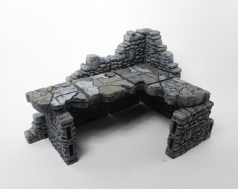 Ruined Stone Premium Set 60 Tiles! - OpenLock - Openforge - DND - Pathfinder - RPG - Tabletop