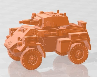 Humber mk II-IV  - Canada - Tanks - Armored Vehicle - World Of Tanks - War Game - Wargaming - Axis and Allies - Tabletop Games