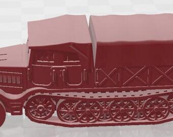 Sdkfz 9 - Germany - Tanks - Armored Vehicle - World Of Tanks - War Game - Wargaming -Tabletop Games
