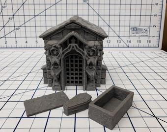 Mausoleum Set - Fat Dragon Games - DND - Pathfinder - RPG - Dungeon & Dragons