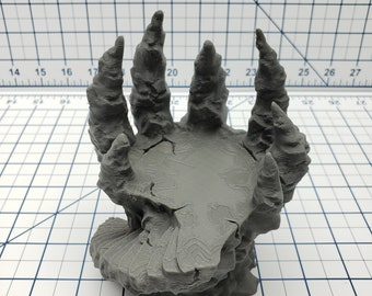 """Skyless Realms - Abyss - Stairway Pedestal - DND - Dungeons & Dragons - RPG - Tabletop - EC3D - Miniature - 28 mm - 1"""" scale"""