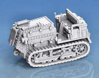Holt 5T Tractor - USA - Tanks - Armored Vehicle - World Of Tanks - War Game - Wargaming - Axis and Allies - Tabletop Games