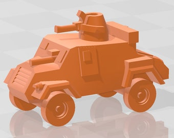 Otter - UK - Tanks - Armored Vehicle - World Of Tanks - War Game - Wargaming - Axis and Allies - Tabletop Games