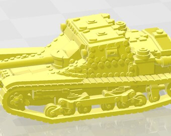 CV35 - Italy - Tanks - Armored Vehicle - World Of Tanks - War Game - Wargaming - Axis and Allies - Tabletop Games