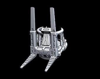 "Gravity Loader - Novus Landing - Starfinder - Cyberpunk - Science Fiction - Syfy - RPG - Tabletop - Scatter- Terrain- 28 mm / 1"""