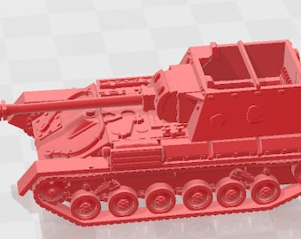SU-85B - USSR - Tanks - Armored Vehicle - World Of Tanks - War Game - Wargaming - Axis and Allies - Tabletop Games