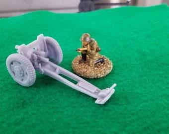 Soviet Model 1927 76mm Regimental Field Gun - Great for Table Top War Games And Dioramas - Resin 28mm Miniatures - Bolt Action -
