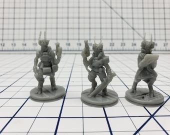 Insectoids Mini - Ignis Quadrant - Hero's Hoard - Starfinder - Cyberpunk - Science Fiction - Syfy - RPG - Tabletop - EC3D -Miniature
