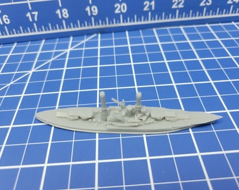 Battleship - New Mexico - 1919 Variant -US Navy - Wargaming - Axis and Allies - Naval Miniature - Victory at Sea - Tabletop Games - Warships