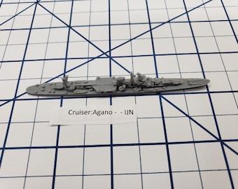 Cruiser - Agano - IJN - Wargaming - Axis and Allies - Naval Miniature - Victory at Sea - Tabletop Games - Warships