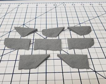 "Cavern Style - Edge Tile Set - DragonLock - DND - Pathfinder - RPG - Dungeon & Dragons - 28 mm / 1"" - Terrain - Fat Dragon Games"