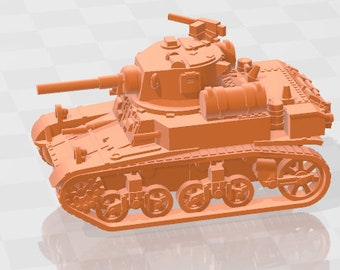 M3A1 - UK - Tanks - Armored Vehicle - World Of Tanks - War Game - Wargaming - Axis and Allies - Tabletop Games