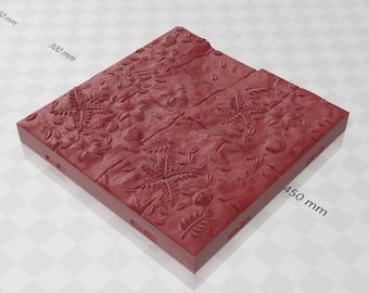 "Path Bases Grid - Shadowgrove Set 2 -Fat Dragon Games- DND- Pathfinder -RPG- Terrain-28 mm / 1"" - Dungeon & Dragons - Warhammer"