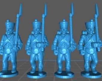 French Line 1808, loose trousers - Great for Table Top War Games And Dioramas - Resin 28mm Miniatures - Bolt Action -