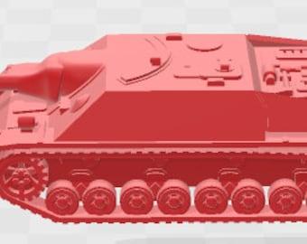 Jagdpz IV - Germany - Tanks - Armored Vehicle - World Of Tanks - War Game - Wargaming -Tabletop Games