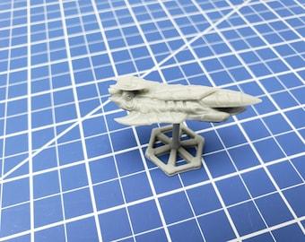 Medium Cruiser - Hive Fleet - The Terra Conflict - Starfinder - A Billion Suns - Starmada - War Fleets - Tabletop - EC3D