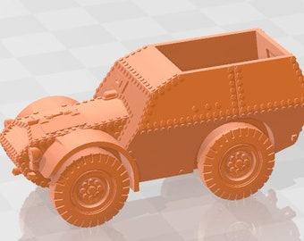 Autocarro Protetto S37 - Italy - Tanks - Armored Vehicle - World Of Tanks - War Game - Wargaming - Axis and Allies - Tabletop Games