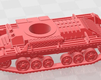 Valentine Set 1 - UK - Tanks - Armored Vehicle - World Of Tanks - War Game - Wargaming - Axis and Allies - Tabletop Games