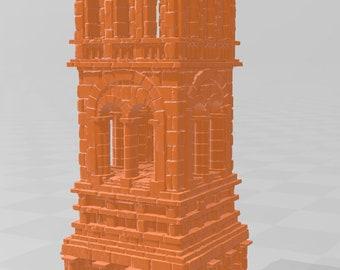 Tower Set - DND - Dungeons & Dragons - RPG - Pathfinder - Tabletop - TTRPG - Arkenfel - Dark Realms - 32 mm