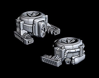 "Industrial Drone - Novus Landing - Starfinder - Cyberpunk - Science Fiction - Syfy - RPG - Tabletop - Scatter- Terrain- 28 mm / 1"""