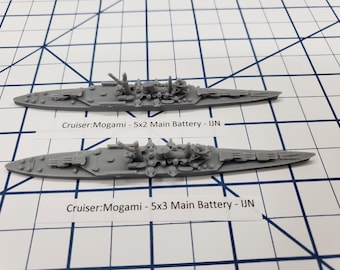 Cruiser - Mogami - IJN - Wargaming - Axis and Allies - Naval Miniature - Victory at Sea - Tabletop Games - Warships