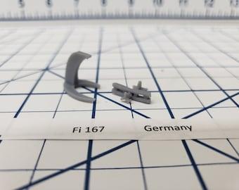 Aircraft - FI 167 - German Navy - 1:900 - Wargaming - Axis and Allies - Naval Miniature - Victory at Sea - Tabletop Games - Warships