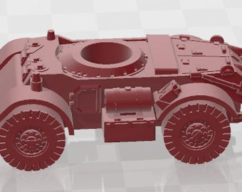 Staghound Set 1 - New Zealand - Tanks - Armored Vehicle - World Of Tanks - War Game - Wargaming -Tabletop Games