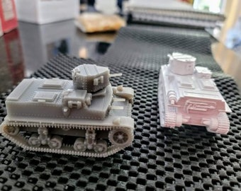 Marmon Herrington CTLS Light Tank - Great for Table Top War Games And Dioramas - Resin 28mm Miniatures - Bolt Action -