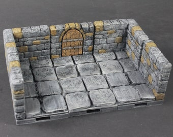 Dungeon Stone Deluxe Set 45 Tiles! - OpenLock - Openforge - DND - Pathfinder - RPG - Tabletop