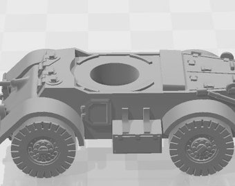Staghound Set 2 - New Zealand - Tanks - Armored Vehicle - World Of Tanks - War Game - Wargaming -Tabletop Games