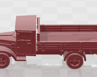 Ford V3000 Set 2 - Germany - Tanks - Armored Vehicle - World Of Tanks - War Game - Wargaming -Tabletop Games