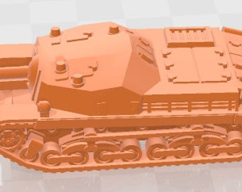 Zrinyi  - Hungary - Tanks - Armored Vehicle - World Of Tanks - War Game - Wargaming -Tabletop Games