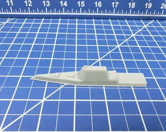 Destroyer - Zumwalt-Class - USN - Wargaming - Axis and Allies - Naval Miniature - Victory at Sea - Tabletop Games - Warships