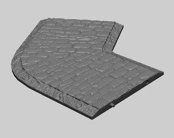 Roadways - DND - Dungeons & Dragons - RPG - Pathfinder - Tabletop - TTRPG - Medieval Scenery - Dark Realms - 28 mm