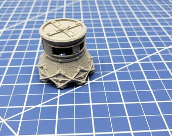 """Diving Bell - Savage Atoll - DND - Dungeons & Dragons - RPG - Tabletop - EC3D - Miniature - 28 mm - 1"""" scale"""