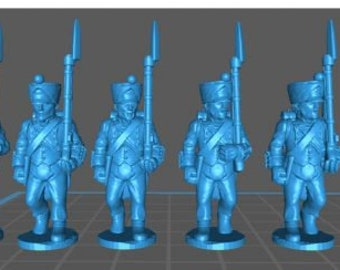 French Line 1808, campaign uniform - Great for Table Top War Games And Dioramas - Resin 28mm Miniatures - Bolt Action -
