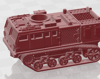 M4 HST Class B - USA - Tanks - Armored Vehicle - World Of Tanks - War Game - Wargaming - Axis and Allies - Tabletop Games