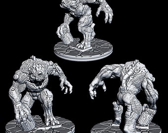 "Hive Behemoth - Novus Landing - Starfinder - Cyberpunk - Science Fiction - Syfy - RPG - Tabletop - Scatter- Terrain- 28 mm / 1"""