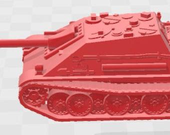 Jagdpanther - Germany - Tanks - Armored Vehicle - World Of Tanks - War Game - Wargaming -Tabletop Games
