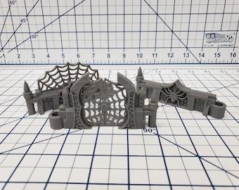 "DungeonSticks - Drow Web Style - DND - Pathfinder - Dungeons & Dragons - Terrain - RPG - Tabletop - 28 mm / 1"""
