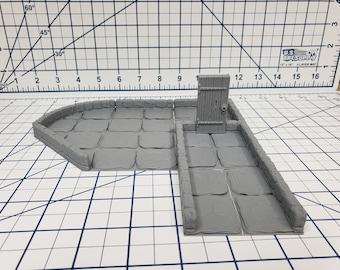 """True Tiles - Dungeon Stone Deluxe Set 75 Tiles! - OpenLock - DND - Pathfinder - Dungeons & Dragons - Terrain - RPG - Tabletop - 28 mm / 1"""""""
