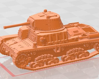 M15-42 - Italy - Tanks - Armored Vehicle - World Of Tanks - War Game - Wargaming - Axis and Allies - Tabletop Games